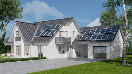 solar panel installation for home